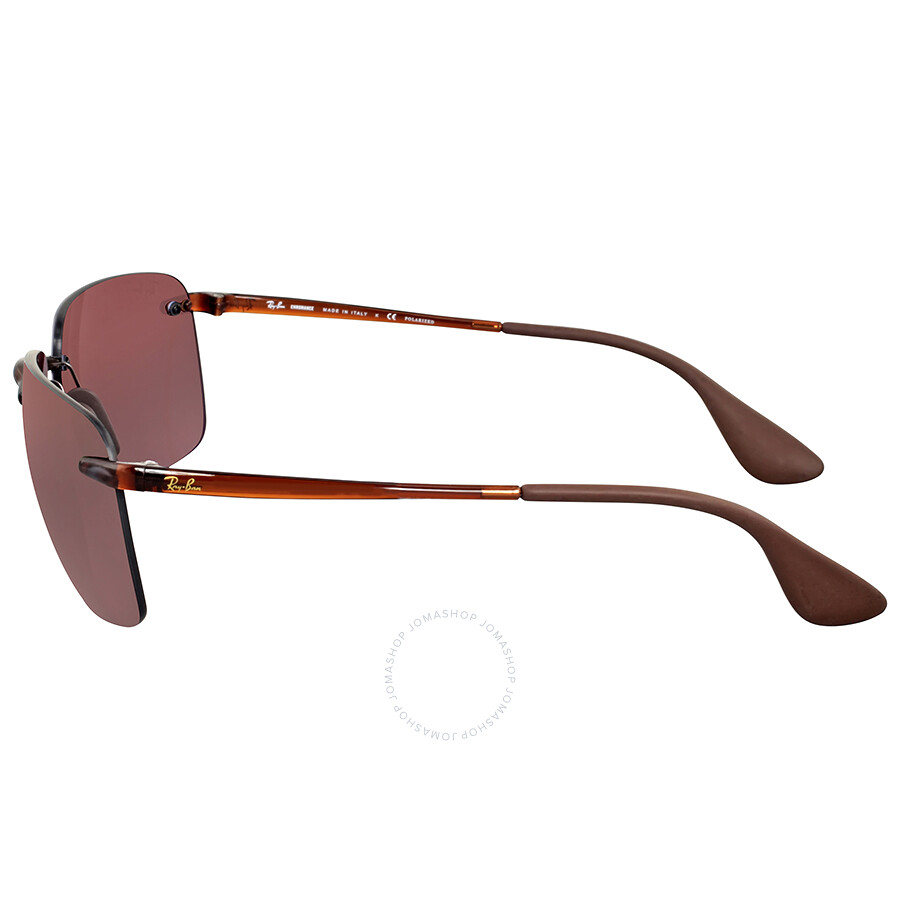 1c58206359196 Ray Ban Brown Purple Polarized Sunglasses - Ray-Ban - Sunglasses ...