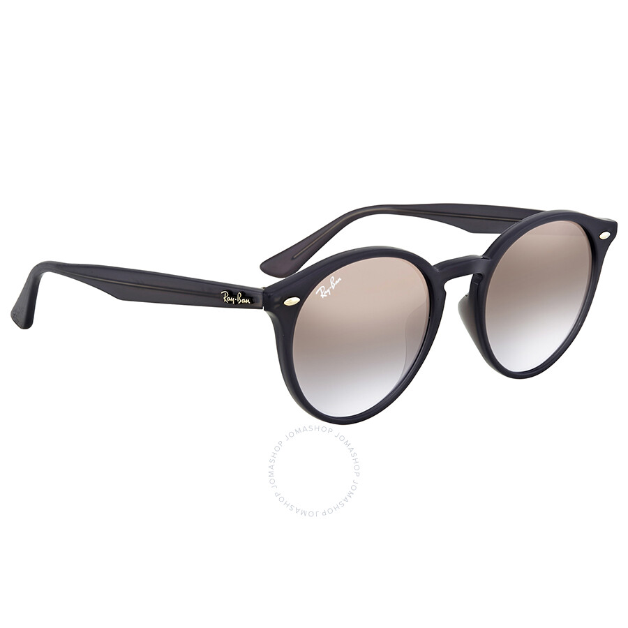 3a8407573e ... Ray Ban Brown Violet Gradient Mirror Round Sunglasses RB2180F 623094 49  ...