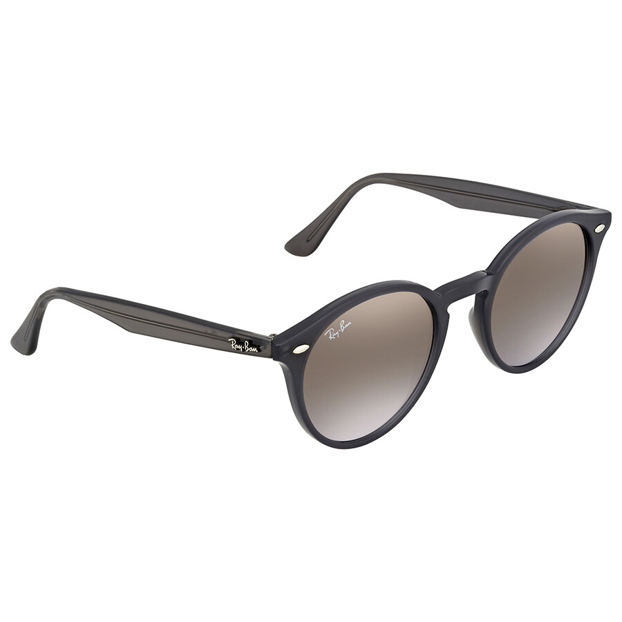 662cc39cf1 Ray Ban Brown Violet Gradient Mirror Round Sunglasses RB2180 623094 49 ...