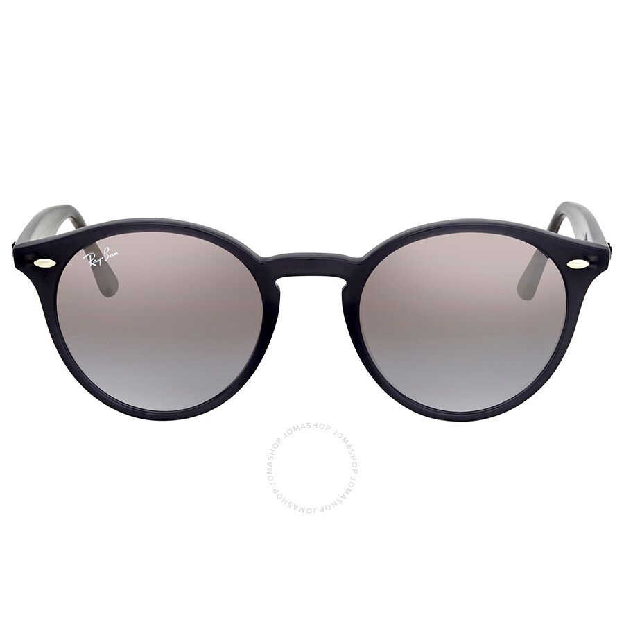 e514d97cd4 ... Ray Ban Brown Violet Gradient Mirror Round Sunglasses RB2180 623094 49  ...