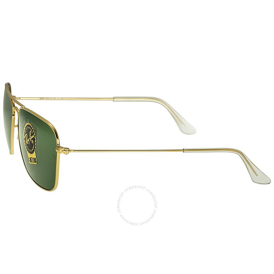 b029a7ca90a ... Ray-Ban Caravan Arista Frame Green Lens Sunglasses RB3136 001 58-15