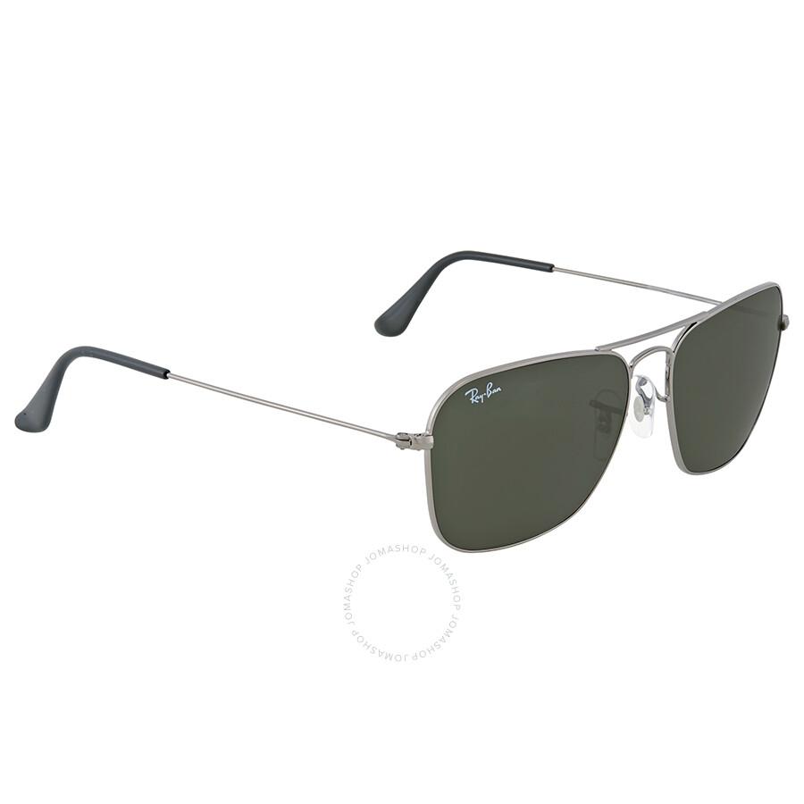 8d9959c5bb Ray-Ban Caravan Classic Green G-15 Sunglasses - Clubmaster - Ray-Ban ...