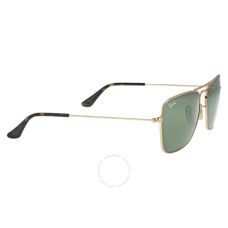 89c5850ee9 ... Ray Ban Caravan Green Classic G-15 Men s Sunglasses RB3136 181 58-15 ...