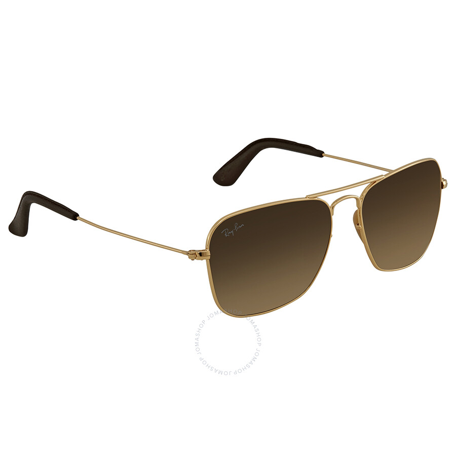 1726e1e417 Ray Ban Caravan Light Brown Gradient Square Sunglasses RB3136 001 51 55 ...
