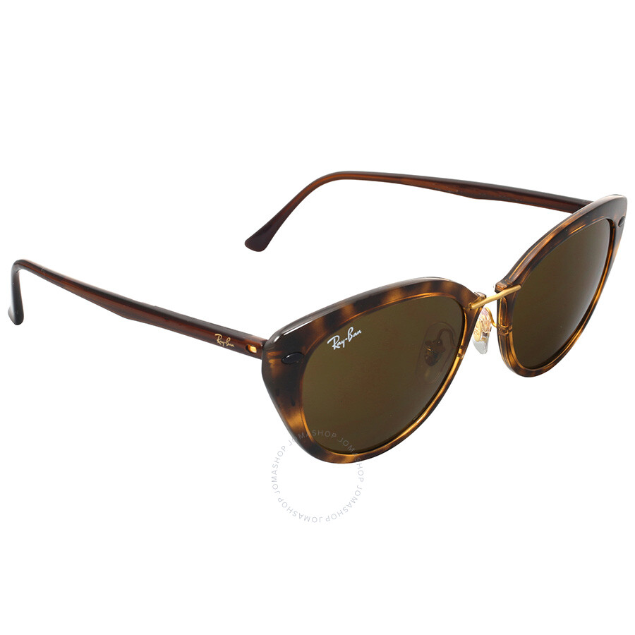 ray ban cat eye brown classic b 15 sunglasses round. Black Bedroom Furniture Sets. Home Design Ideas