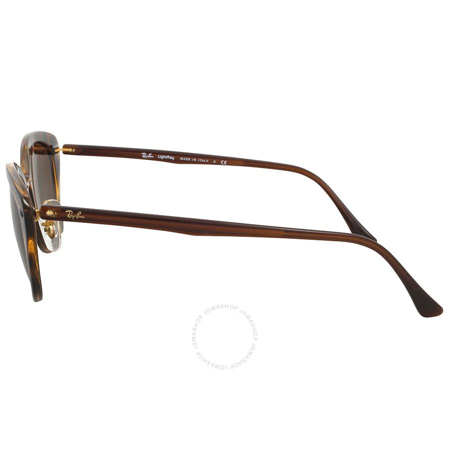 a7ab58fbd39 Ray-Ban Cat Eye Brown Classic B-15 Sunglasses - Round - Ray-Ban ...