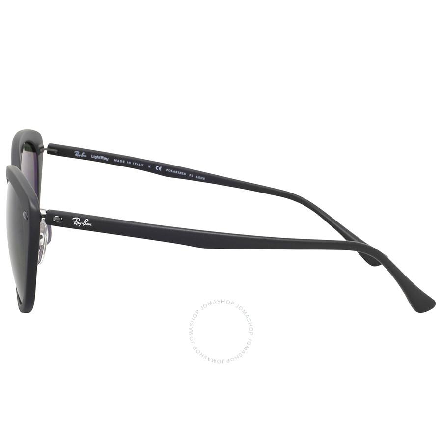 cfce684dc3 Ray-Ban Cat Eye Polarized Green Classic G-15 Sunglasses - Round ...