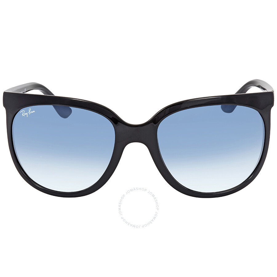 d583859702 ... Ray Ban Cats 1000 Blue Gradient Cat Eye Ladies Sunglasses RB4126 601 3F  57 ...