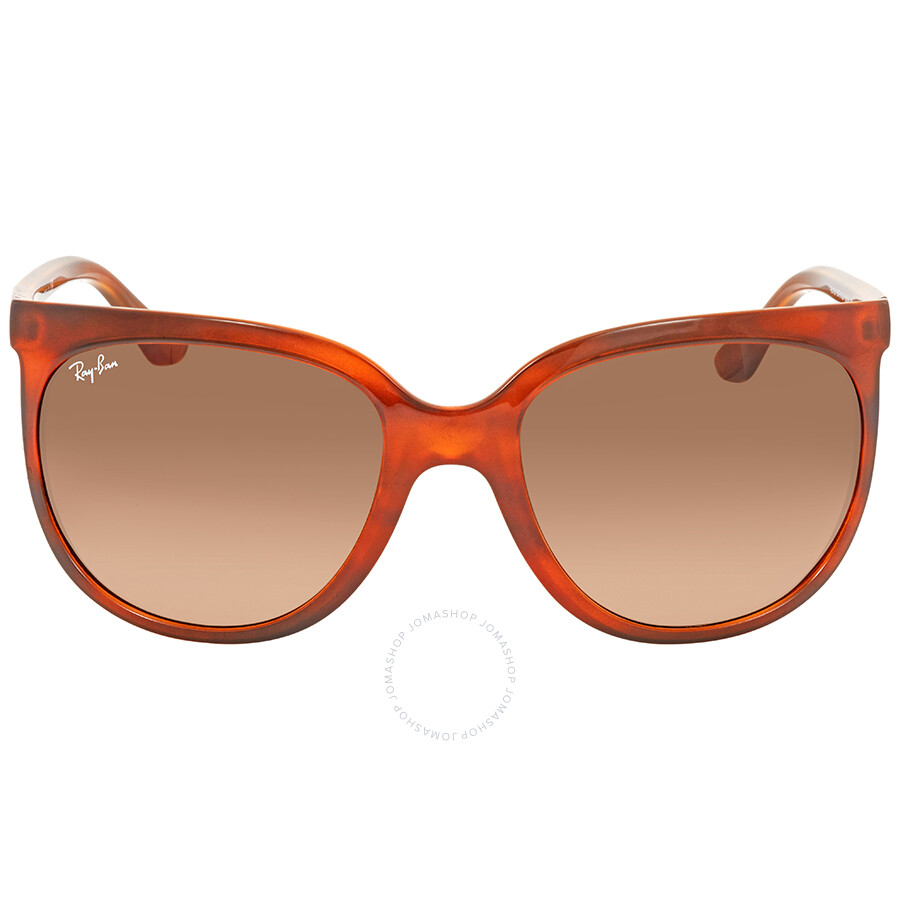 5c98452180 ... Ray Ban Cats 1000 Brown Gradient Cat Eye Ladies Sunglasses RB4126 820 A5  57 ...