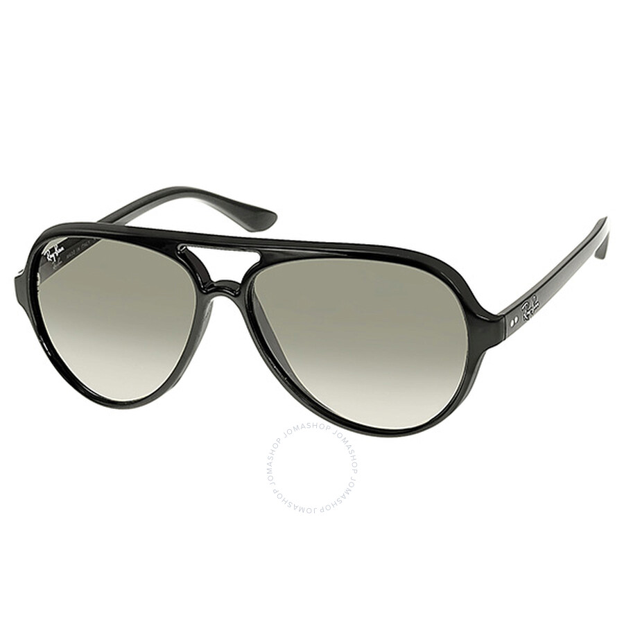 Ray Ban CATS 5000 Classic Light Grey Gradient Sunglasses RB4125 601-3259 ... b9674a201f8c
