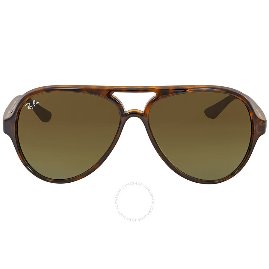 da41d5282b0 Ray Ban Cats 5000 Green Gradient Men s Sunglasses RB4125 710 A6 59 ...