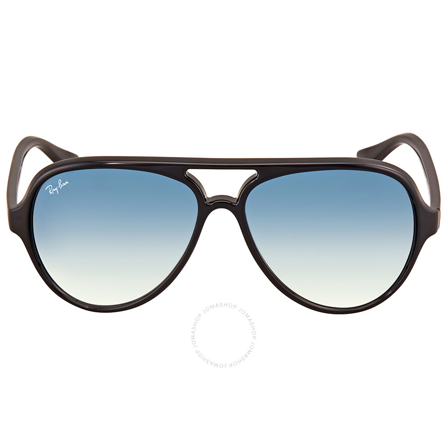 Ray Ban Cats 5000 Light Blue Gradient Men s Sunglasses RB4125 601 3F 59 ... f1bb69ae517c