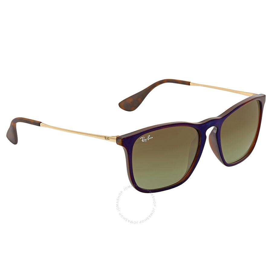 5dfa4241783 Ray Ban Chris Brown Gradient Men s Sunglasses RB4187 6315E8 54 ...