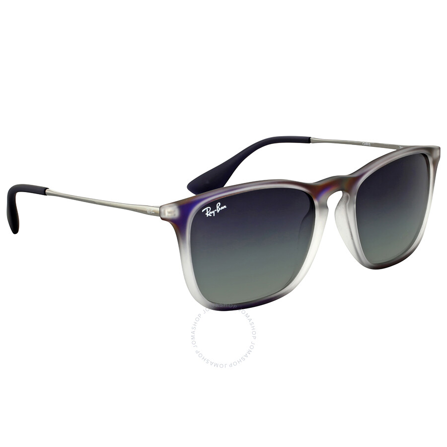 ray ban chris grey gradient