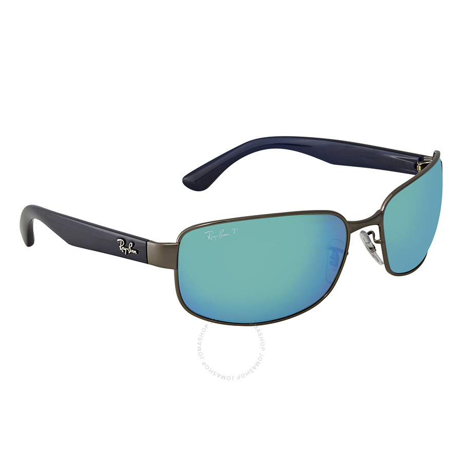 88400958af Ray Ban Chromance Polarized Blue Mirror Chromance Sunglasses RB3566CH 004 A1  65 ...