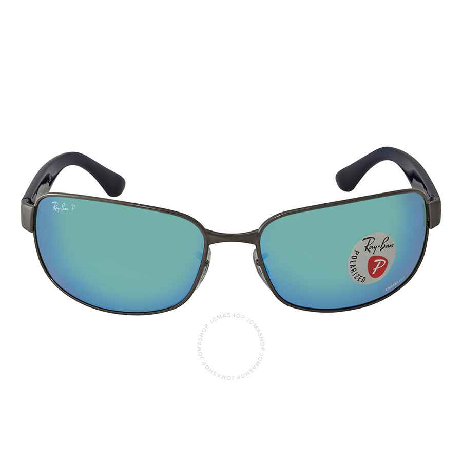 2da13e2ebf ... Ray Ban Chromance Polarized Blue Mirror Chromance Sunglasses RB3566CH  004 A1 65 ...