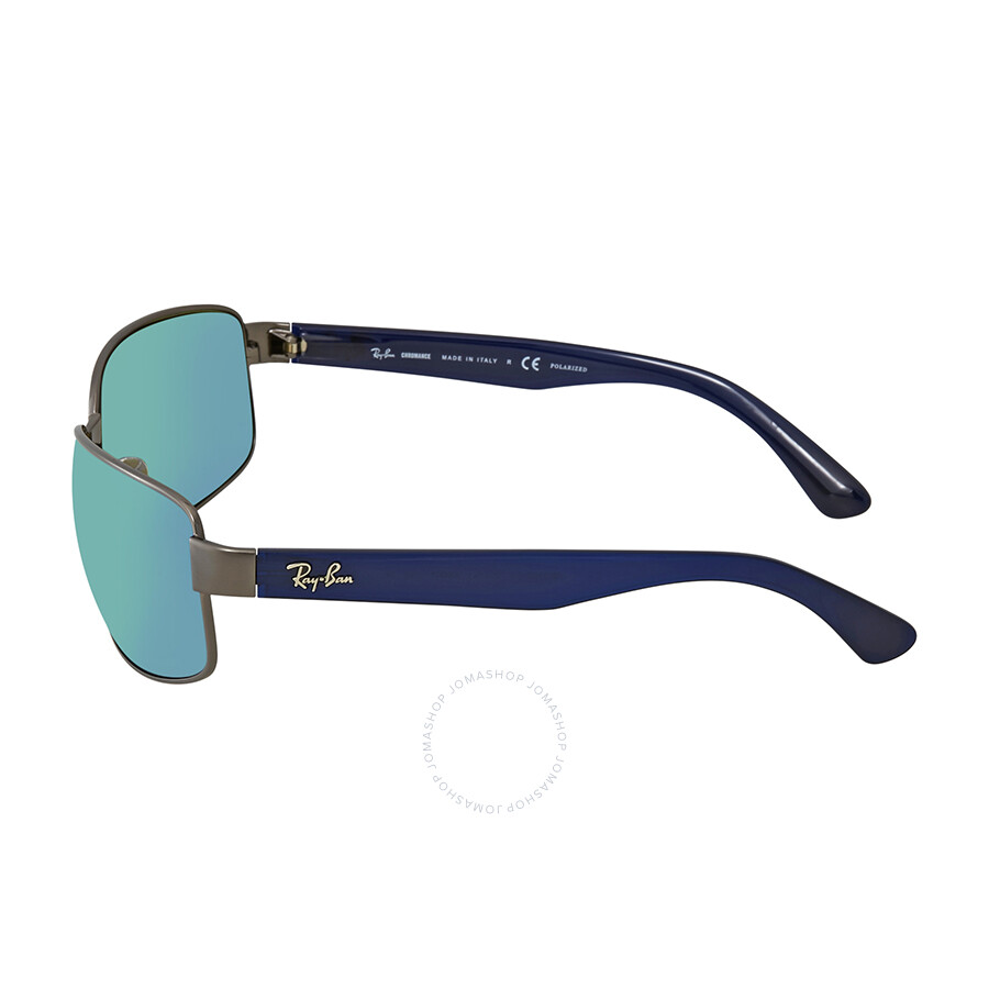 40eb71df32 ... Ray Ban Chromance Polarized Blue Mirror Chromance Sunglasses RB3566CH  004 A1 65