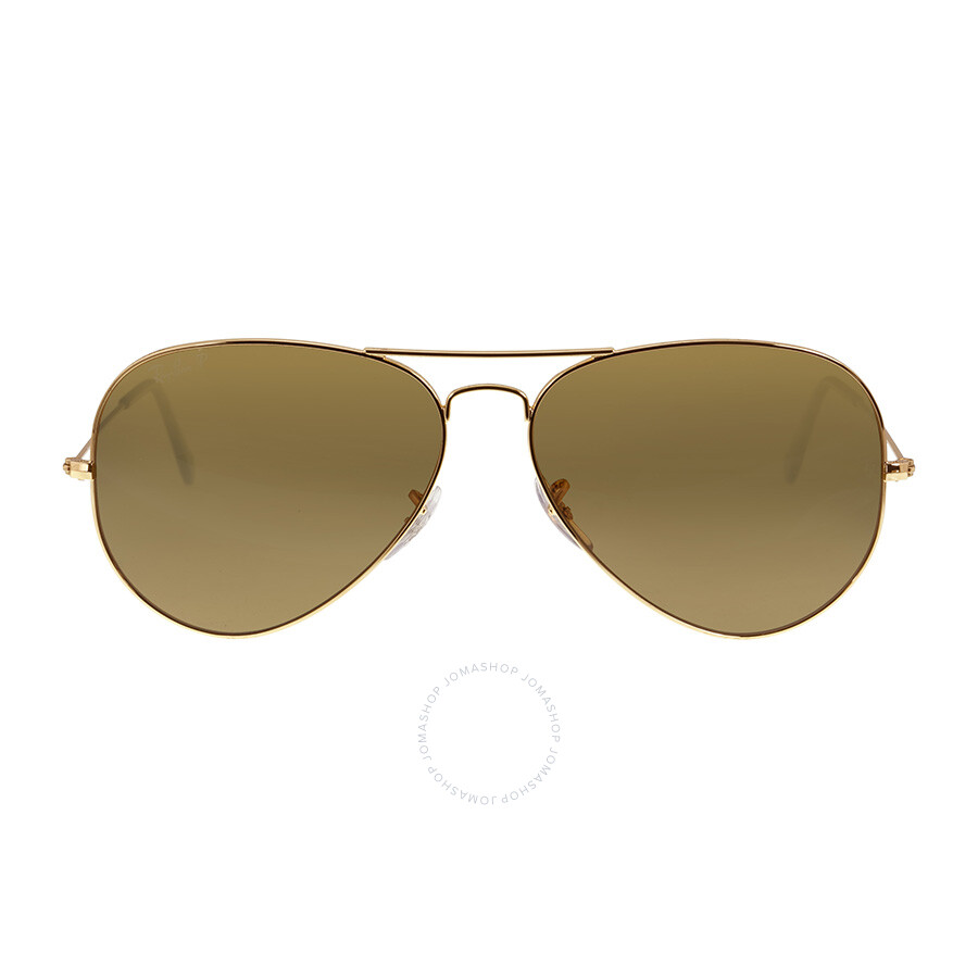b35fd3c4ca2 Ray-Ban Classic Aviator Sunglasses - Polarized Brown B-15 - Aviator ...