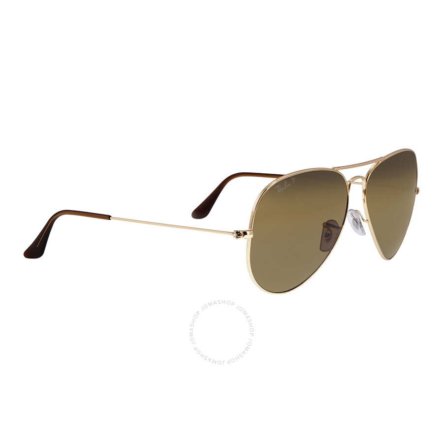 0f5a4a2451 Ray-Ban Classic Aviator Sunglasses - Polarized Brown B-15 - Aviator ...