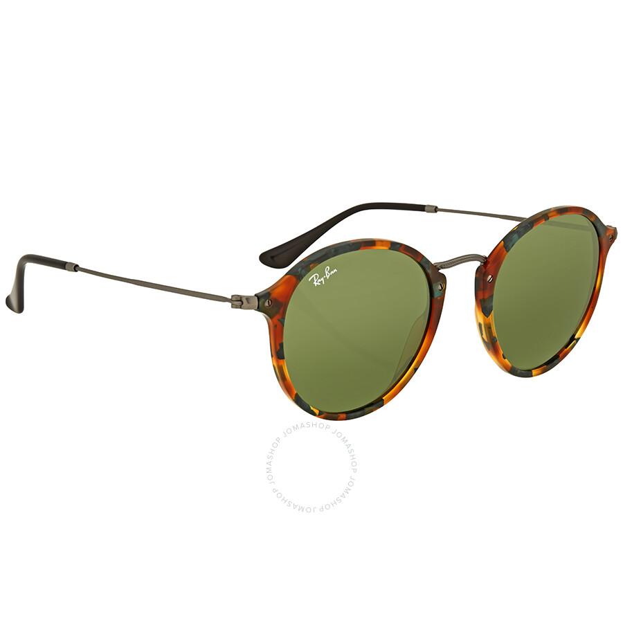 21716c40c0e Ray Ban Classic Green Men s Sunglasses RB2447 11594E 52 - Round ...