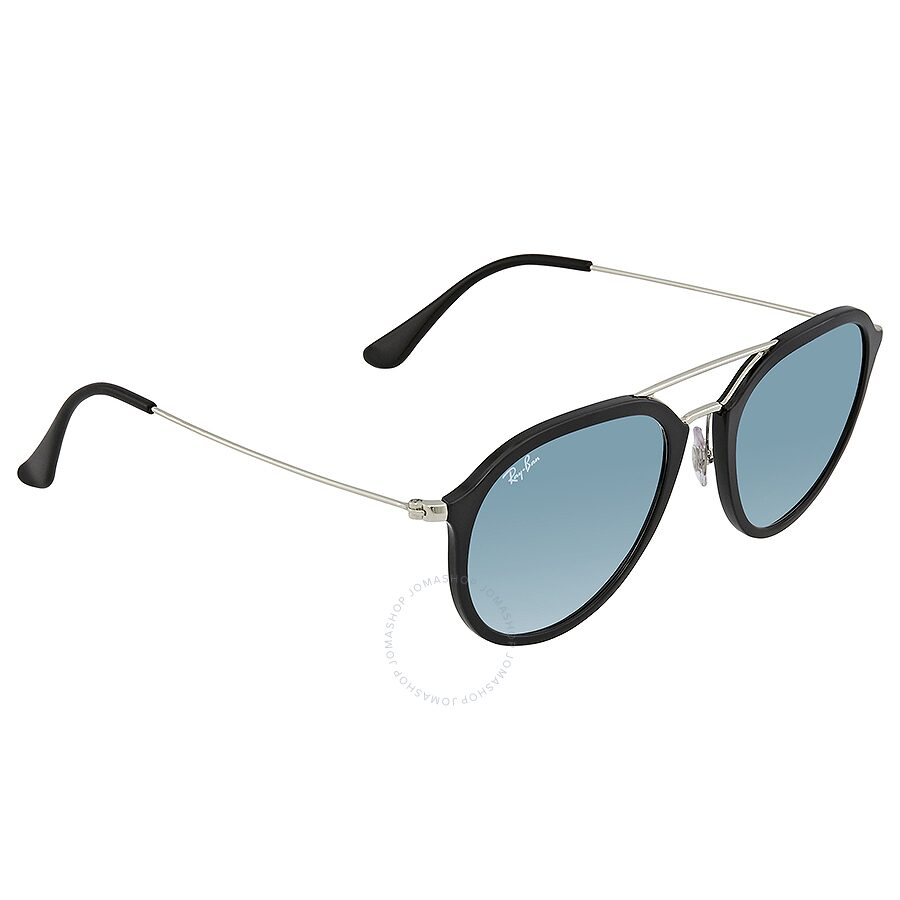 f1489213d3 Ray Ban Clear Blue Gradient Round Sunglasses 0RB42503 62923F 53 ...