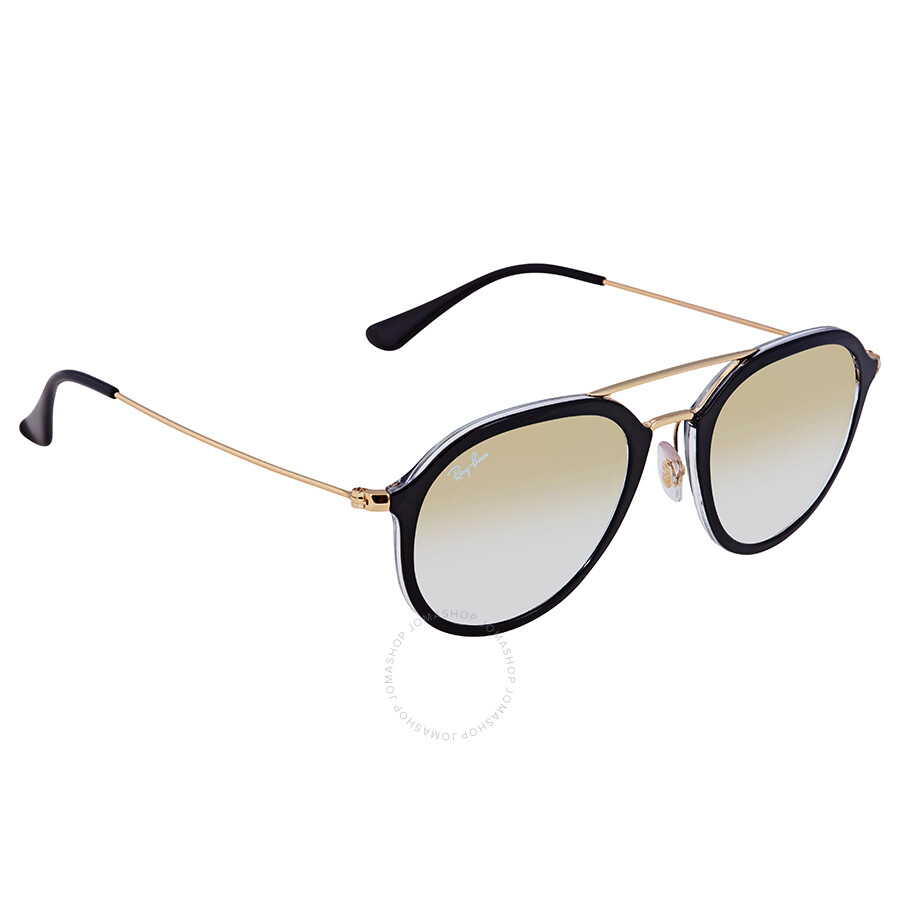 26bbc7432f8 Ray Ban Clear Gold Gradient Aviator 50 mm Sunglasses RB4253 6052Y0 50 ...