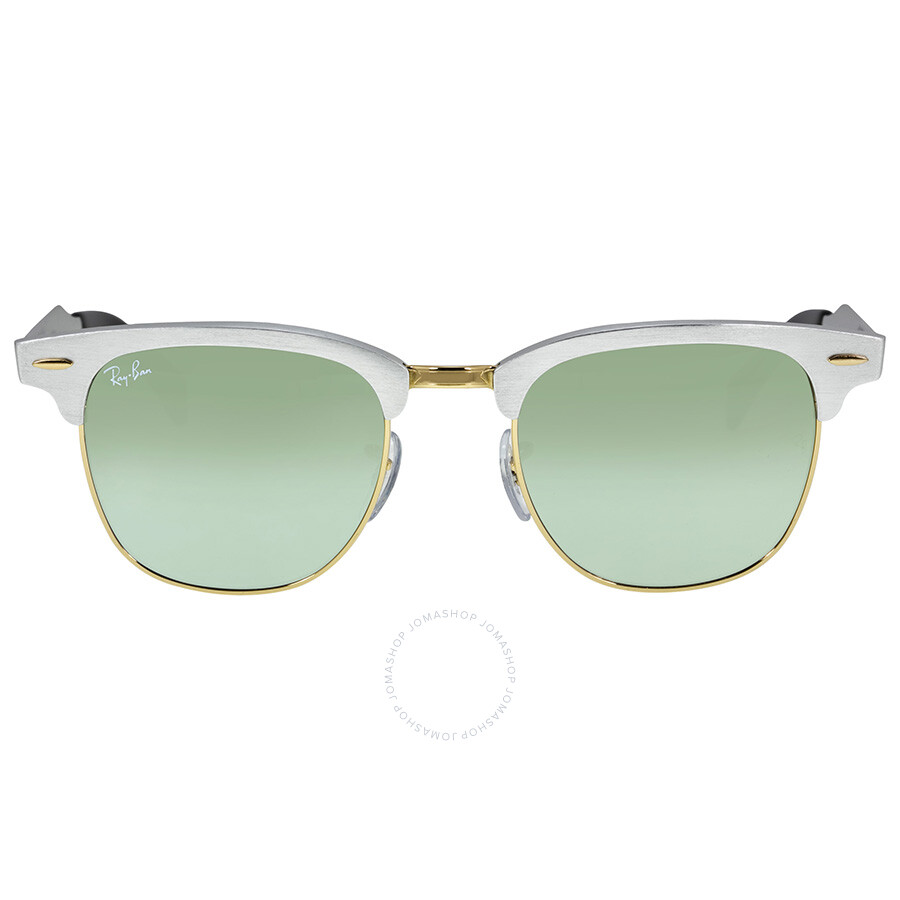 Ray Ban Clubmaster Aluminum Frame Sunglasses RB3507-51-137-40 ... 779fc578d1