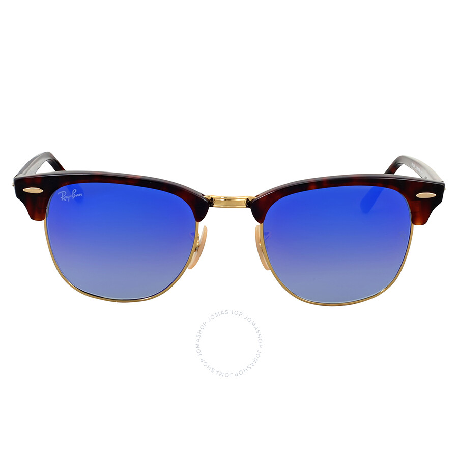 Ray Ban clubmaster blue gradient sunglasses