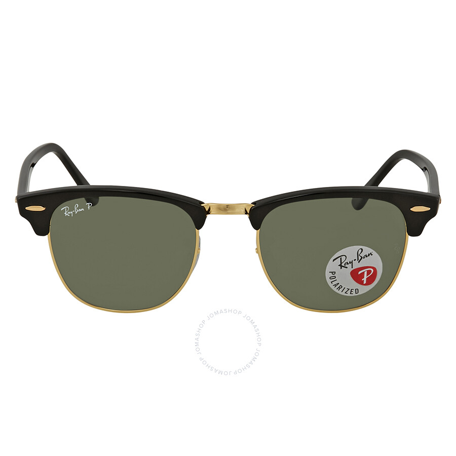 8d5b1f02f4 ... Ray Ban Clubmaster Classic Green Classic Polarized G-15 Sunglasses RB3016  901 58 51 ...