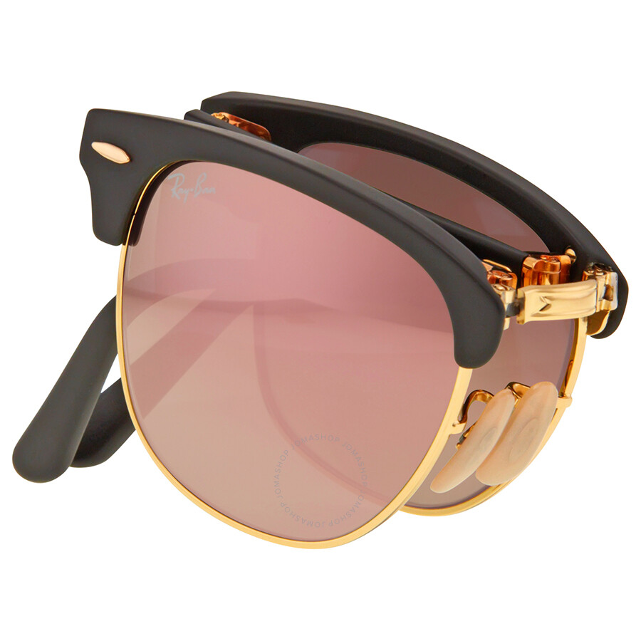 f3799a8e1ab ... Ray Ban Clubmaster Folding Copper Gradient Flash Sunglasses RB2176 -901S7O-51