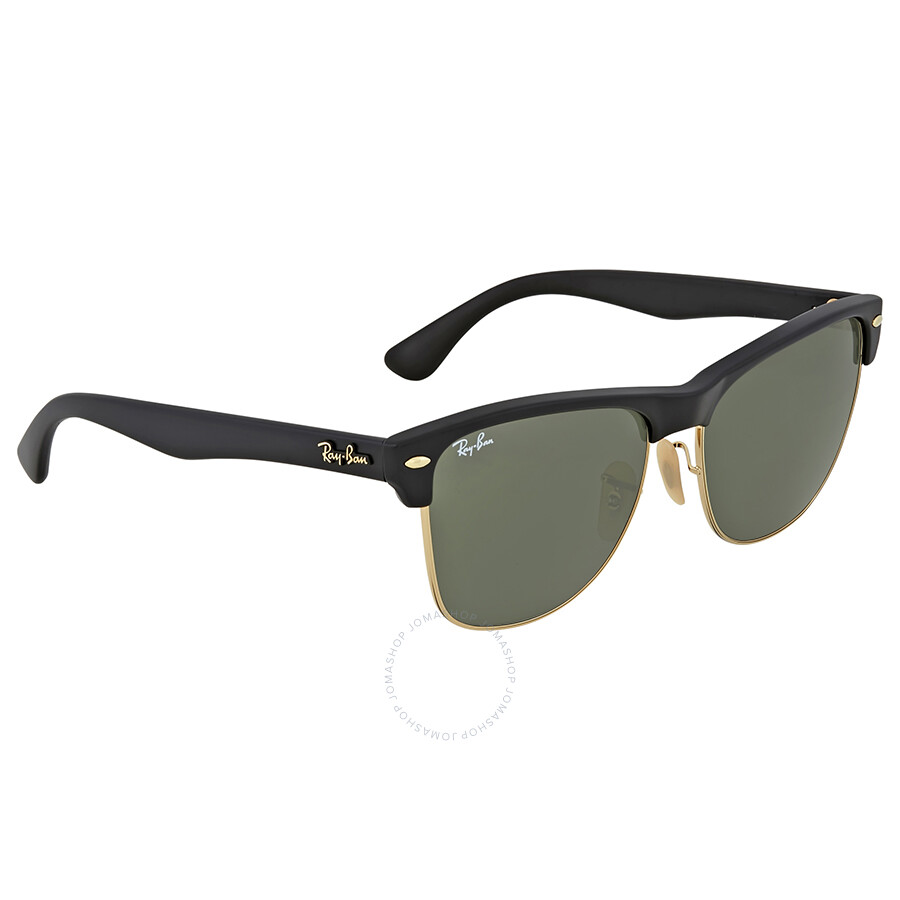 e3a4e641066 Ray-Ban Clubmaster Green G-15 Lens Sunglasses - Clubmaster - Ray-Ban ...