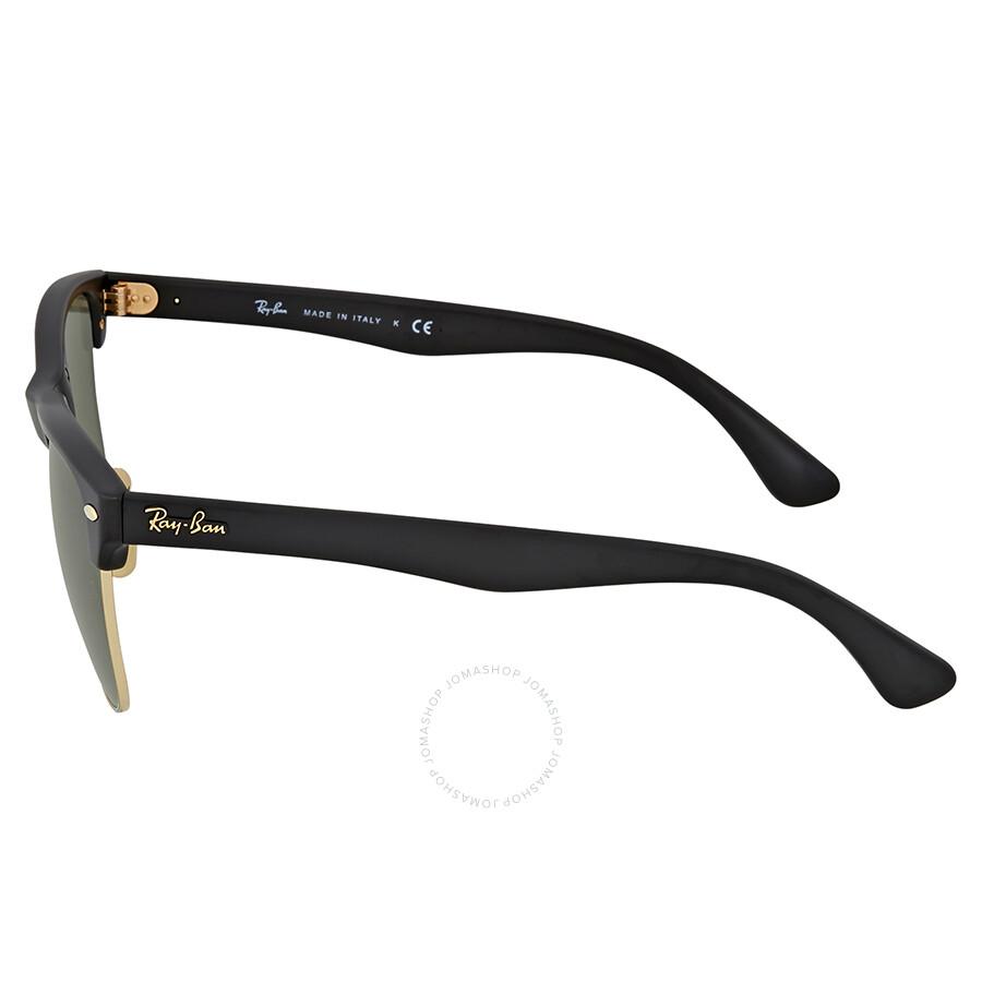 cb60061617bb0 Ray-Ban Clubmaster Green G-15 Lens Sunglasses - Clubmaster - Ray-Ban ...