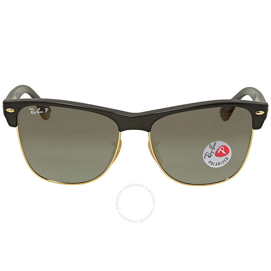3365440233 Ray Ban Clubmaster Grey Gradient Square Polarized Men s Sunglasses RB4175  877 M3 57 ...