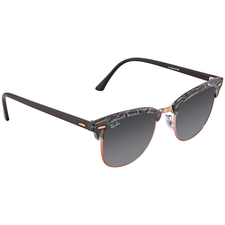 d909e99cdb7b Ray Ban Clubmaster Grey Gradient Square Sunglasses RB3016 125571 51 ...