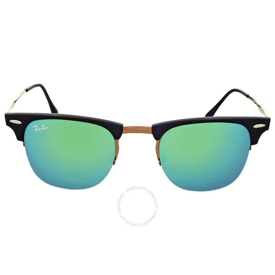 Rayban Clubmaster Sunglasses  ray ban clubmaster light ray green mirror sunglasses clubmaster