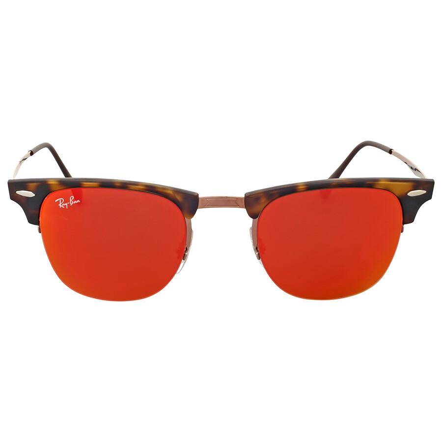 9bbcb01e1a334 ... get ray ban ray ban clubmaster light ray red mirror sunglasses 7d1ba  01e73