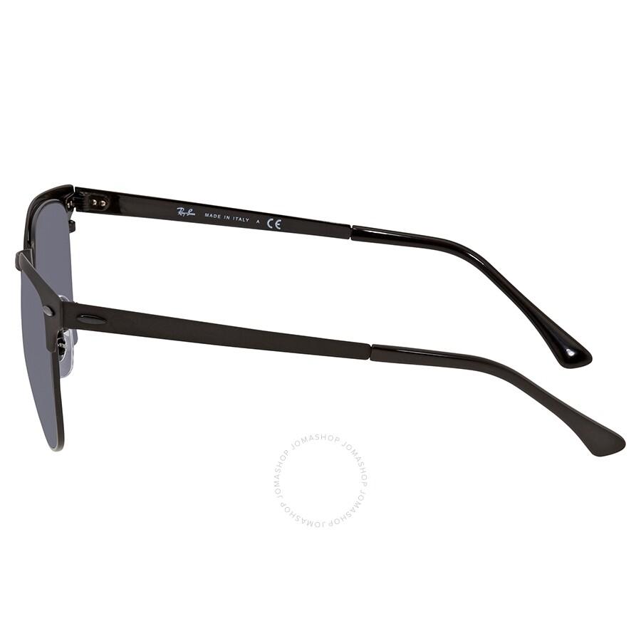 ray ban clubmaster metal blue classic men's sunglasses rb3716 186 r5 51 2019 toyota 86 gt interior damen accessoires c 1_86 #5