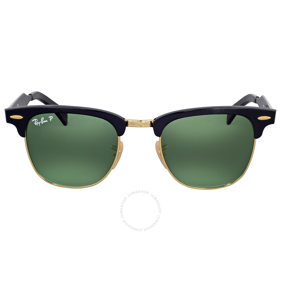 5f004aa49eb72 Ray Ban Clubmaster Polarized Green Classic Sunglasses Item No. RB3507 136 N5  49