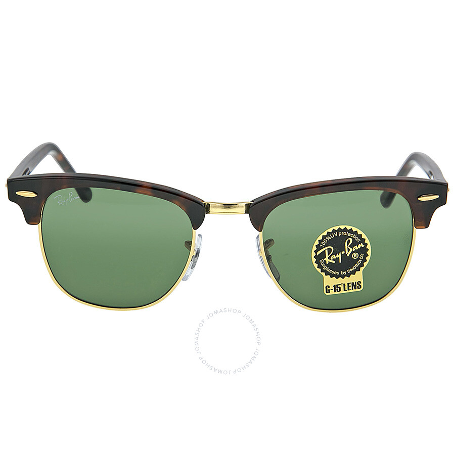 레이밴 Ray Ban 클럽마스터 Clubmaster Tortoise 49 mm Gunglasses RB3016 W0366 49-21