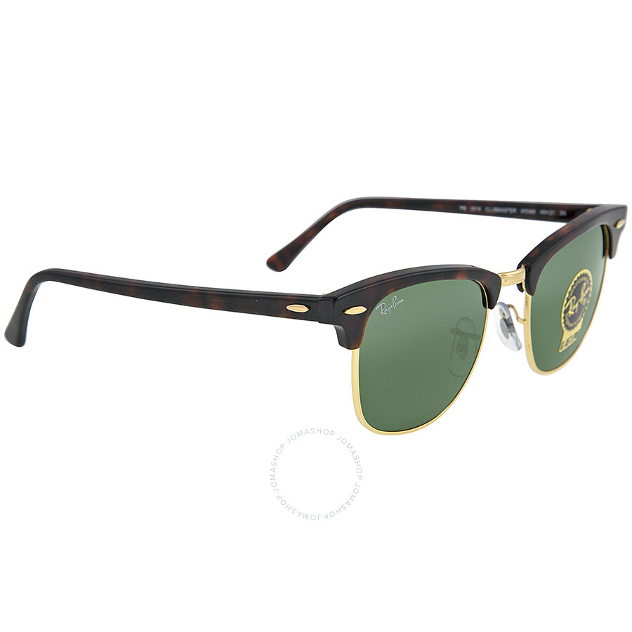 2553c998b37 ... Ray Ban Clubmaster Tortoise 49 mm Sunglasses RB3016-W0366-49 ...