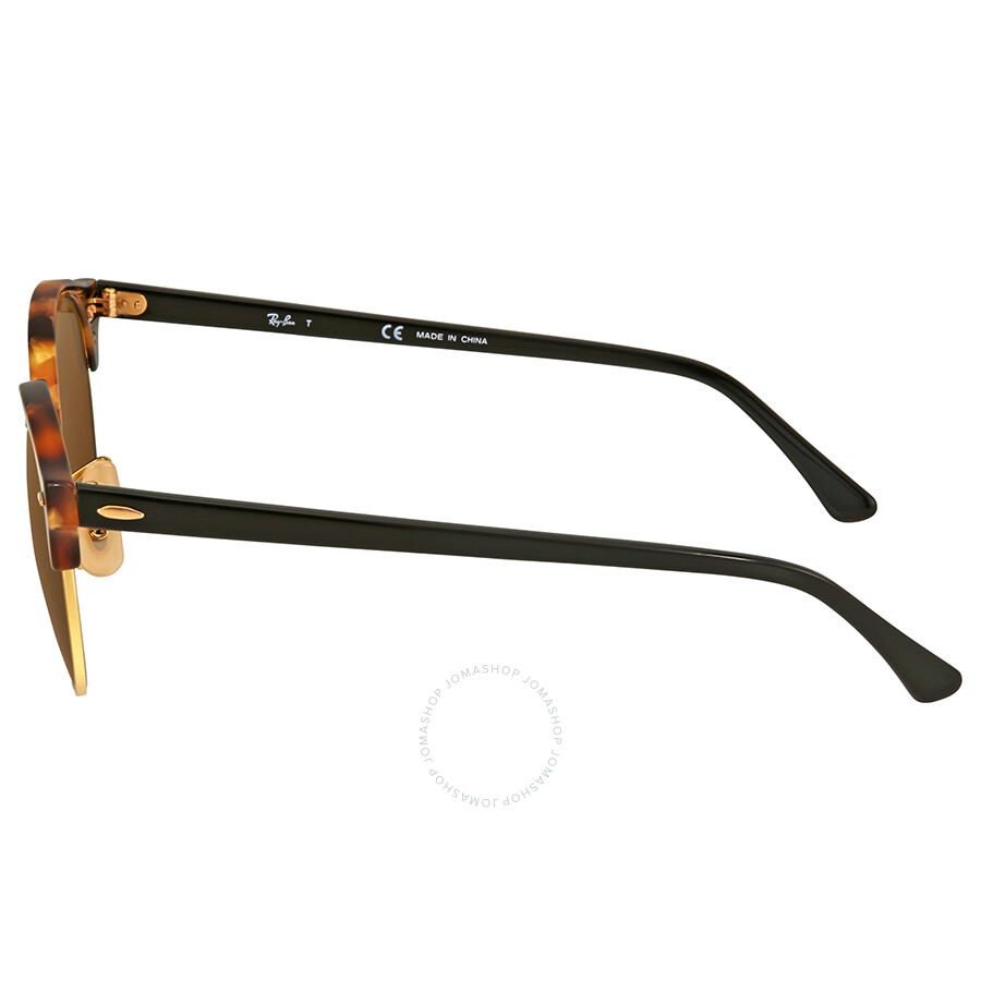 7a4a6736c02 Ray Ban Clubround Brown Sunglasses RB4246 1160 51 - Clubround - Ray ...