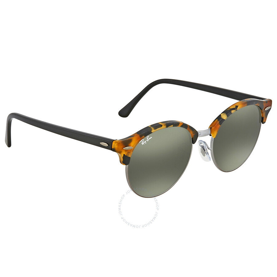 3aa6a8a73b Ray Ban Clubround Classic Green Classic G-15 Round Sunglasses RB4246 1157E  51 ...