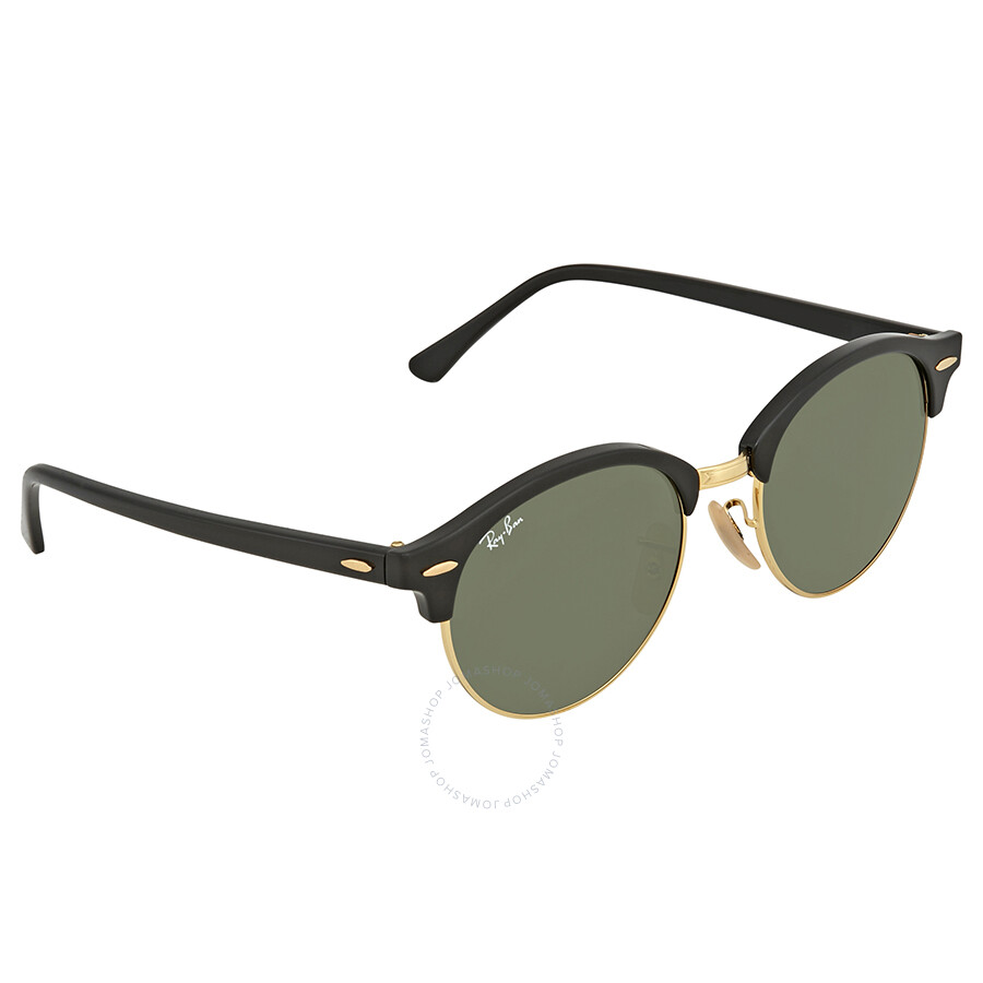 8a97ce71f12ed Ray Ban Clubround Classic Green Classic G-15 Round Sunglasses RB4246 901E  Item No. RB4246 901E 51