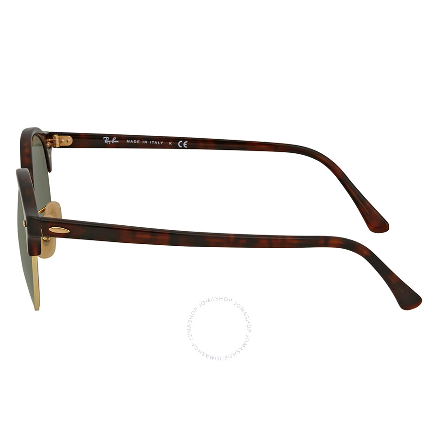9d9990149e9 ... Ray Ban Clubround Classic Green Classic G-15 Sunglasses RB4246 990E 51