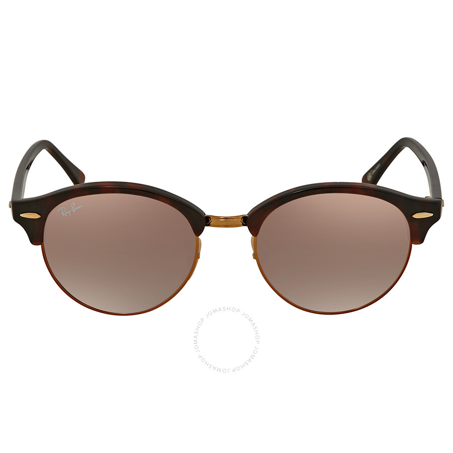 84f6ca6454 ... Ray Ban Clubround Copper Gradient Flash Round Sunglasses RB4246 990 7Y  51 ...