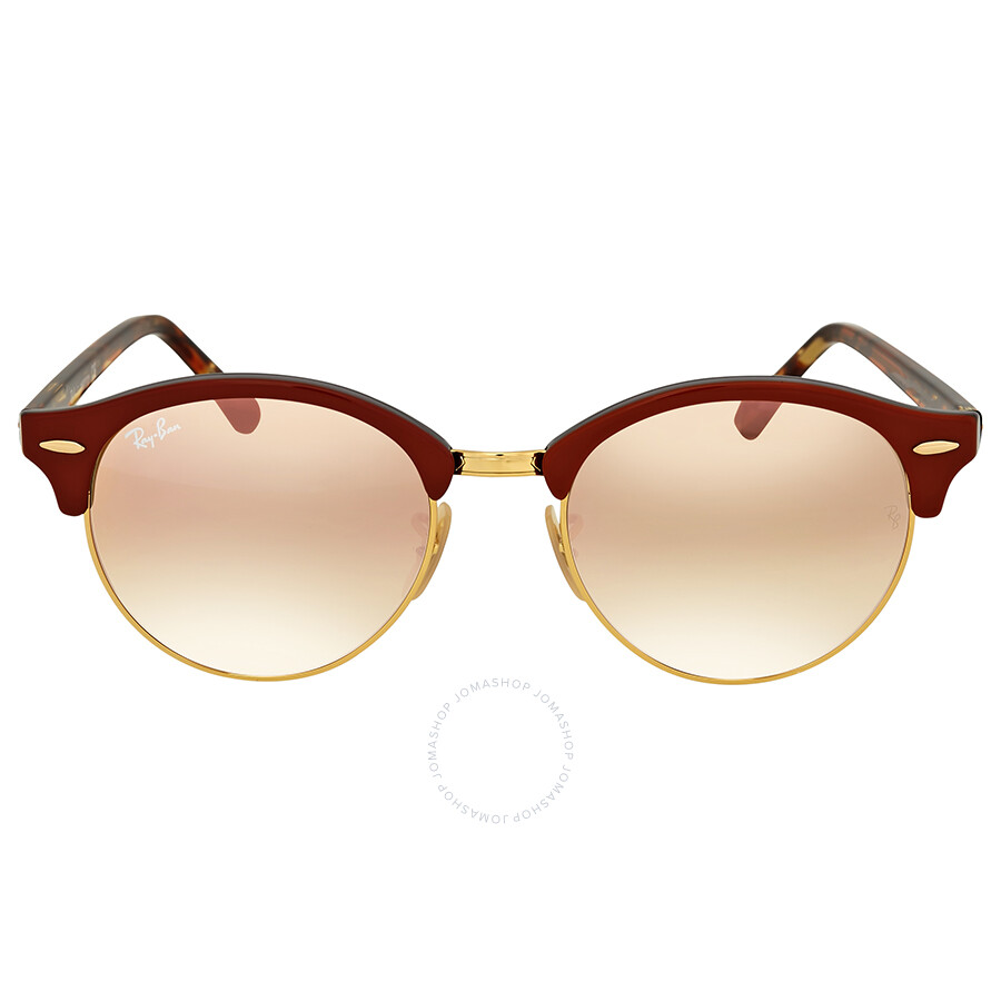 b1dc1572fee Ray Ban Clubround Copper Gradient Flash Sunglasses Item No. RB4246 12207O 51