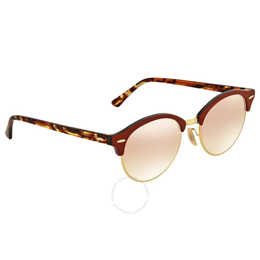 b047feb8d9 Ray Ban Clubround Copper Gradient Flash Sunglasses Ray Ban Clubround Copper  Gradient Flash Sunglasses ...