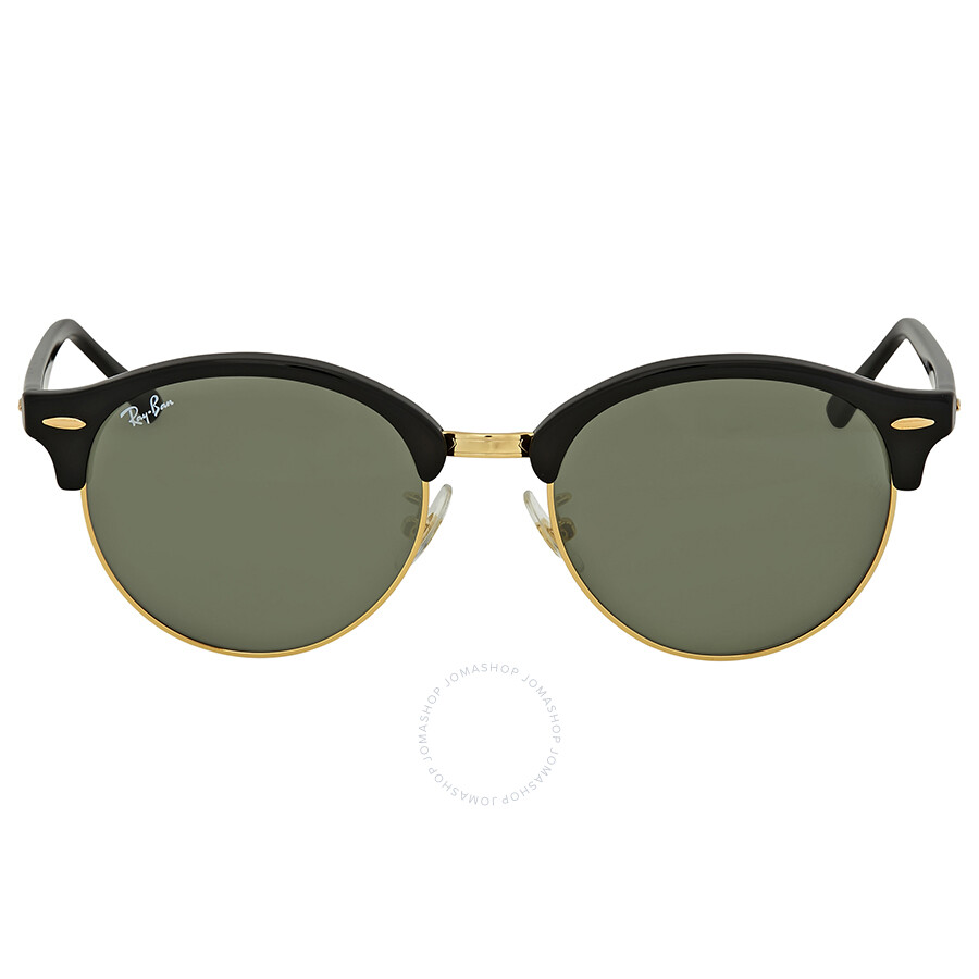 089a1889374b Ray Ban Clubround Green Classic Sunglasses - Clubround - Ray-Ban ...