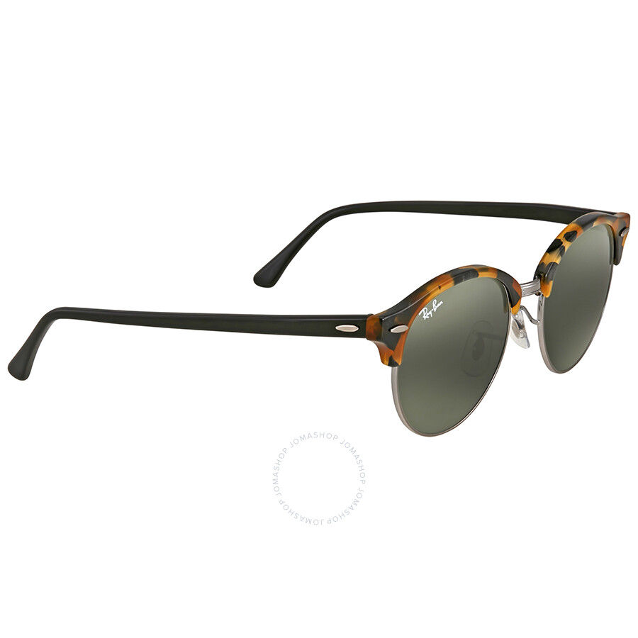cf6abf4ccf065 ... Ray Ban Clubmaster Classic Green Sunglasses RB4246 1157 51 ...