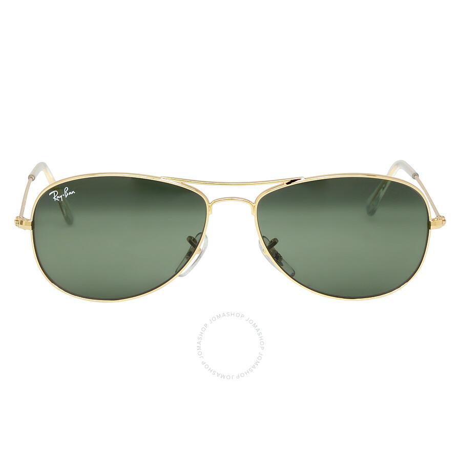 87db425d61 Ray-Ban Cockpit 56 mm Sunglasses - Gold/Green Classic G-15 - Ray-Ban ...